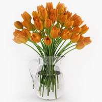 3ds max tulips jug