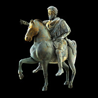 maya marcus aurelius equestrian statue