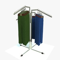 maya trousers stand rack