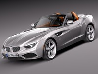 3d 3ds bmw zagato convertible roadster