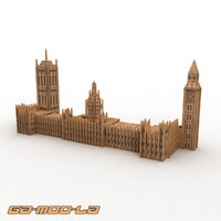 Toy Big Ben Jigsaw