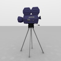 Classic Hollywood Movie Camera