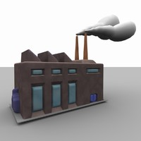 factory warehouse building 3ds