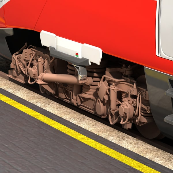 3ds max etr train - ETR-600... by 3world