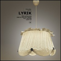 ikea lyrik celling lamp light max