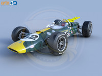 1965 38 indy car 3ds