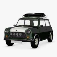 3d austin mini rally model