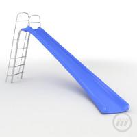 plastic playground 3d model