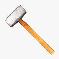 3d small sledge hammer