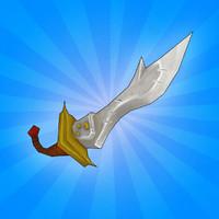 3d brute sword model