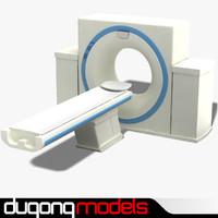 dugm04 ct scanner 3d model