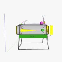 3d model pcbu diving gear