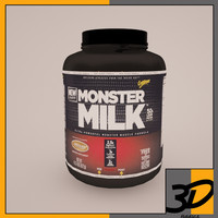 3ds max monster milk