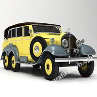 mercedes 1938 3d model