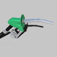 fuel pump 3d blend