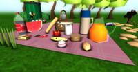 pack picnic fbx