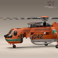 S-64F Skycrane