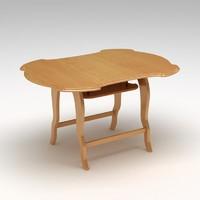 table hdri 3d obj