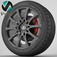 Wheel lexus IS 2