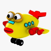 Fish Airplane Toy