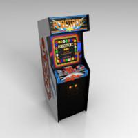 classic robotron arcade 3d model