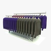 jumper hanger shirt 3d c4d