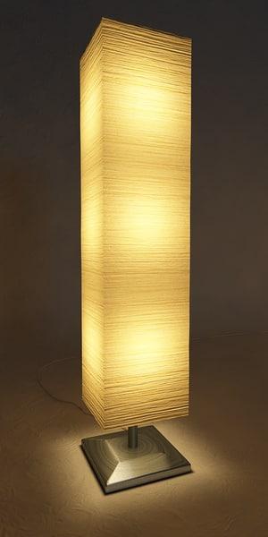 C4d paper lamp - Paper floor lamp ikea ...