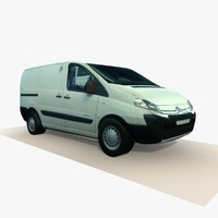 old citreon van 2 c4d