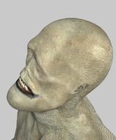 3dsmax character faunas zomb