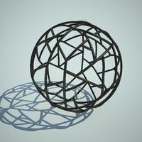 3d model decor