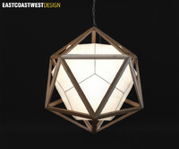 3d model light icosa