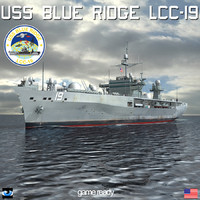 USS Blue Ridge LCC-19 with SH60
