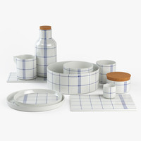 set kitchen mormor normann 3d model