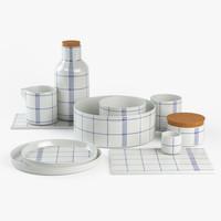 set kitchen mormor normann 3d model