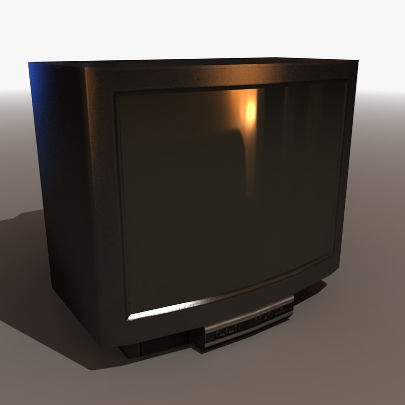 3d 3ds Old Crt Television