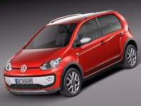 2014 volkswagen cross 3d 3ds