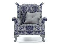 3ds max bruno zampa diva armchair