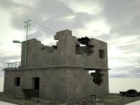 maya ruin house
