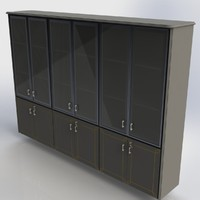 3d office cabinet