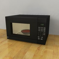 3d microwave oven