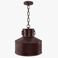 dxf pendant lamp vintage