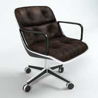 Knoll Pollock Executive Designer Chair