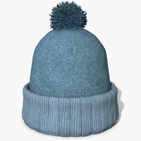 3d winter hat