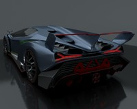 lamborghini veneno sports 3d model