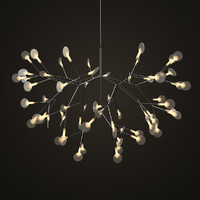 3d decorative lamp heracleum moooi model