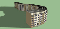 3d 5 building 103 series model