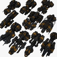 10 space battleships max