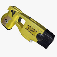 3d model gun taser