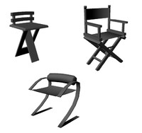 free packet chairs 3d model