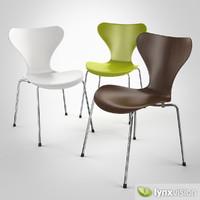 3d serie 7 chair arne